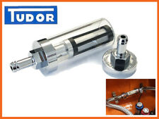 Fuel Filter Washable MG,Triumph,Mini,Morris,Jaguar inline chrome/glass etc 3/8