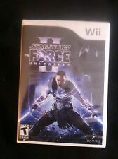 Star Wars: The Force Unleashed II  (Wii, 2010) *New,Sealed*