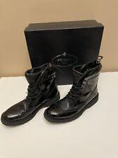 Men's Prada Lace-up Mens Combat Boots 10.5 NIB