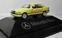 Herpa 1:87 Mercedes Benz C 220 Klasse W202 OVP hellgelb 25 Jahre Autohaus Falter