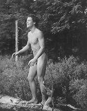 1990 Vintage BRUCE WEBER matted 14X11 Photo Gravure Male Nude CLAES Outdoor