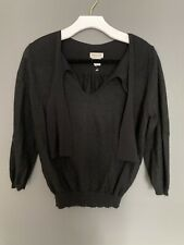 DRIES VAN NOTEN Black Sweater Medium
