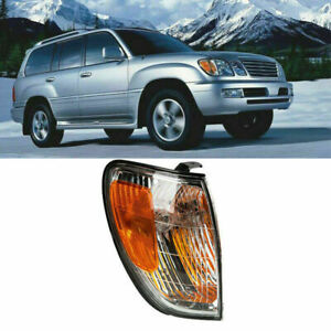 For Lexus LX470 1998-2007 Right Side Front Bumper Turn Signal Light Corner Lamp