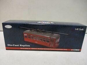 Corgi Vintage Bus Lines Birney Safety Car Baltimore Maryland 1/48