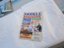 Revue RC Avion modélisme Modéle magazine plan encarté Hot dog un fun fly