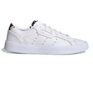 New Adidas Originals SLEEK Women's Trainers UK 5-7 /Sneakers/White/leather /£74
