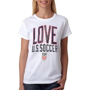 Gen 2 Youth Girls (7-16) National USA Soccer Shirt, White