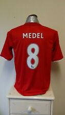Cardiff City Home Football Shirt Jersey 2013-2014 MEDEL 8 Medium