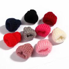 Knitting Wool Flower Candy Cute Woolen Yarn Hat Women Clothing 30pcs