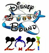 DISNEY BOUND ***MINNIE MICKEY MOUSE****** VACATION 2021 T-SHIRT IRON ON TRANSFER
