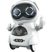 10X(Mini RC Pocket Robot for Kids with Interactive Dialogue Conversation, V O5D4