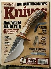 Knives Illustrated New World Hunter CRKT Katz Blades Dec 2015 FREE SHIPPING JB