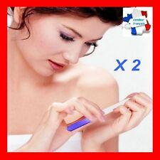 Lime a ongles X 2 bicolore verre cristal longue durée nail art