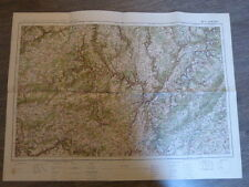 carte d'état major longwy    ww2                       (c11)