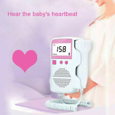 3.0 MHZ LCD Fetal meter Baby Heart Beat Rate Monitor FHR Probe Pregnant