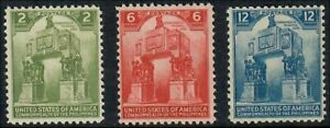 (GS4011) PHILIPPINES USA - 1939 COMMONWEALTH 4TH ANNIVERSARY SET. MH