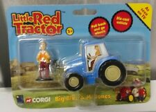 Corgi 2005 Little Red Tractor Big Blue & Mr JonesToy Set