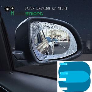 2x car rearview mirror rain film window HD flooding anti-fog nano film AHS