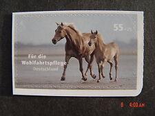 """BRD 2635 skl. aus MH 69 - Postfrisch - Wohlfahrt Haustiere """"Pferde"""" - 2007"""