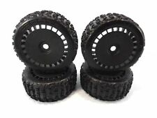NEW ARRMA TALION 6s BLX dBOOTS KATAR TIRES & BLACK 17mm WHEELS OUTCAST KRATON