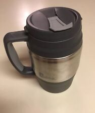 BUBBA KEG Insulated Travel Mug Gray 34 Oz Hot Cold Stainless Steel Belted