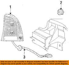 4759280 NEW MOPAR OEM Rear Tail Light Lamp Socket & Wire RH for VARIOUS CHRYSLER