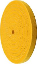 Enkay 156-YC  6-Inch Treated Spiral Sewn Buffing Wheel