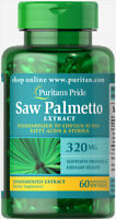 Puritans Pride Saw Palmetto Standardised Extract 320 mg60 Softgel
