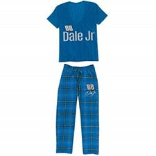 New Nascar Dale Earnhardt Jr #88 Ladies NASCAR Pajama Sleep Set Medium
