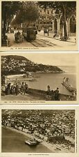 CARTE POSTALE / LOT 5 CP / NICE / DIVERS VUES / TRAMWAY /