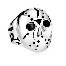 Friday The 13th Jason Voorhees Movie Biker Ring Mens Women Stainless Steel