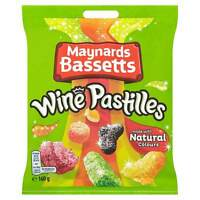 MAYNARDS BASSETTS WINE PASTILLES SWEETS BAG 160G TREATS PARTY CHRISTMAS PRESENT