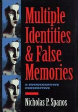 Multiple Identities and False Memories: A Sociocognitive Perspective-ExLibrary