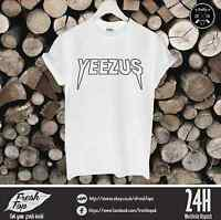 Yeezus T Shirt Top Kanye West Def Jam Recordings Mike Dean Daft Punk Music Gift