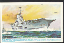 Military Postcard - The Royal Navy - H.M.S Ark Royal    RS4185