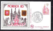 BLOC   CNEP   NUM.  4A   Nordex   1983   sur enveloppe