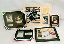 NHL Hockey Wayne Gretzky Plaques, Clock and Pictures
