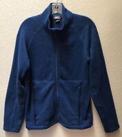 OR Outdoor Research Men's Fleece Jacket Full Zip Size Small Blue