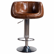 Swan Chair, Bar Stool for Commercial and Home use Vintage Leather Bar Stool