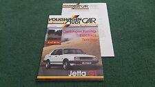 Junio 1986 Revista De Coche VW AUDI VW en Brasil JETTA GT Oettinger AUDI 80 CL Folleto