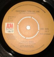 """Stealers Wheel - Everything'L Turn Out Fine Folk Rock 7"""" Vinyl Record 45RPM"""