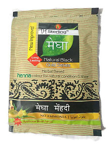 STERLING HERBAL HENNA HAIR DYE COLOR KALI MEHANDI NATURAL POWDER