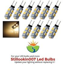 10 - Landscape LED bulbs, WARM WHITE 9SMD G4 Path, Garden & Landscape Lighting
