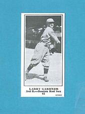 1915 M101-5 The Sporting News Reprint #65 Larry Gardner (Boston Red Sox)