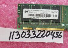 256MB SDRAM SDR PC 133 SYCH  PC133 CL2  168PIN NON-ECC UNBUFFERED  2RX8  16X8