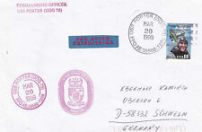 DESTROYER USS PORTER DDG 78 A SHIPS CACHED COVER
