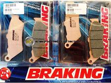 POUR KTM LC8 ADVENTURE ABS 990 2006 06 PLAQUETTES DE FREIN AVANT Sintérisés BRAK