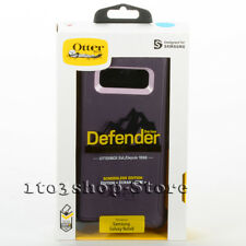 Otterbox Defender Samsung Galaxy Note 8 Case w/Belt Clip Purple Nebula Used