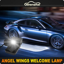 2pcs Angel Wing LED Welcome Light Carpet Floor Project Illumination Kit White