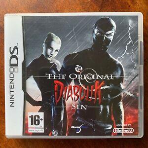 Danger Diabolik Nintendo DS Game Original Sin Videogame Based on Cult Comic